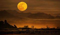 正月十五的月亮是不是圆的?