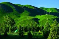 那拉提草原美丽风景图