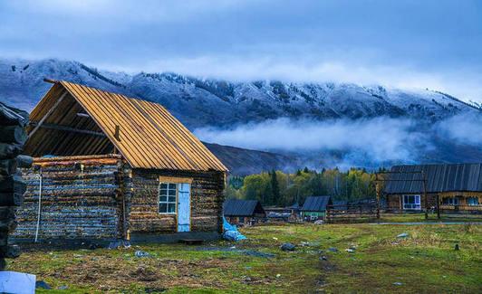 雨季新疆美景欣赏