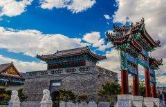 古中山国在灵寿和定州的三次建都的历史