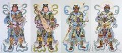 佛教四大天王是哪四位?