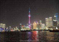 上海东方明珠附近夜景欣赏(12月)