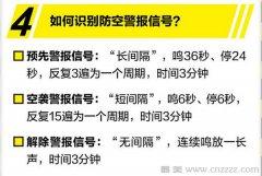 关于防空警报试鸣我们需要知道的知识点和北京市的防空警报试鸣日