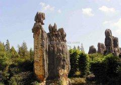 天津元古奇石林风景区