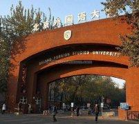 北京外国语大学什么时候成立的?